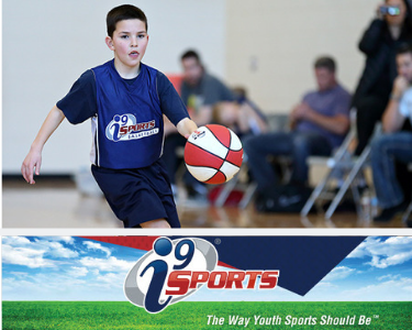i9 Sports Basketball Page Header