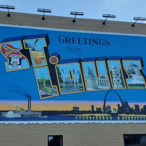 Greetings from St Louis Mural