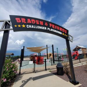 Braden & Friends Challenger Playground