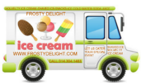 Frosty Delight Ice Cream Trucks