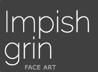 Impish Grin Face Art