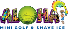 Aloha Mini Golf & Shave Ice Frozen treats