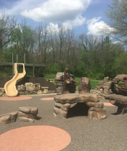 Sugar Creek Park Play Fountain