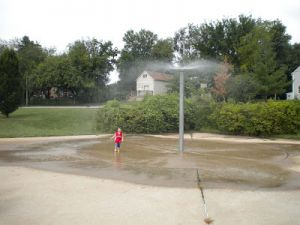 Lemay Park Spray Fountain