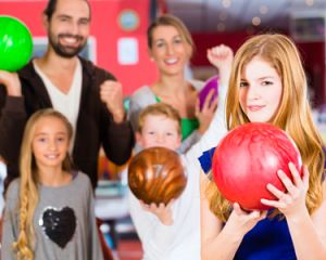 Challenge the Kids to Bowling