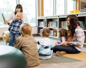 Enjoy Story Time at your Local Book Store or Library