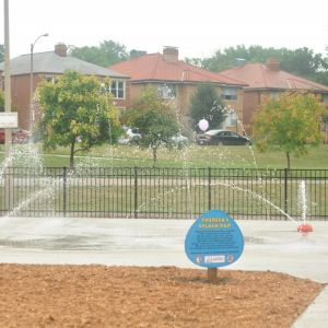 Theresa's Splash Pad  at Willmore Park